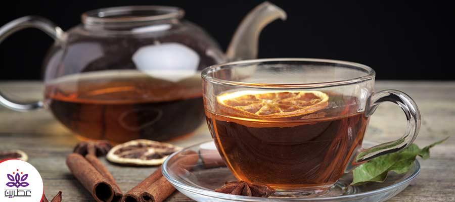 دارچین بهترین طعم دهنده چای