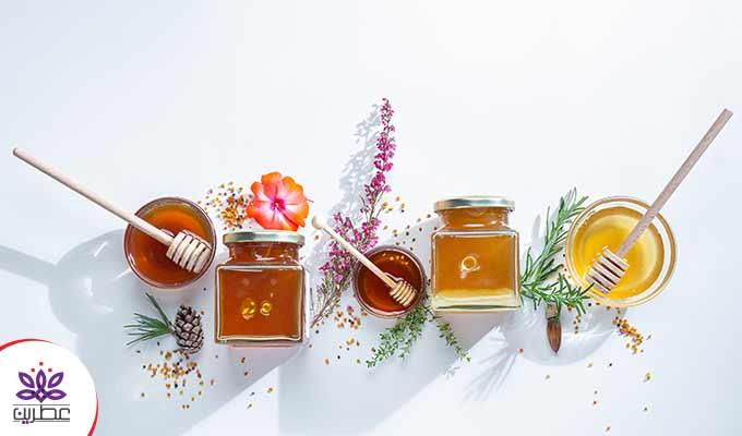 ویژگی های انواع عسل طبیعی