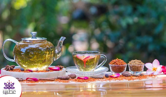 انواع چای با طعم های مختلف|چای طعم دار خانگی با عطر زعفران|دارچین بهترین چاشنی چای|عسل افزودنی طبیعی چای
