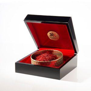 جعبه زعفران هدیه سوپر نگین 15 گرمی