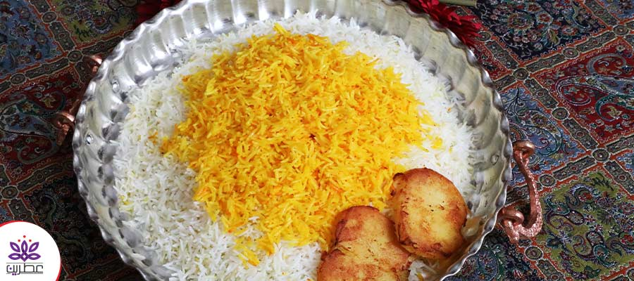 برنج زعفرانی ایرانی