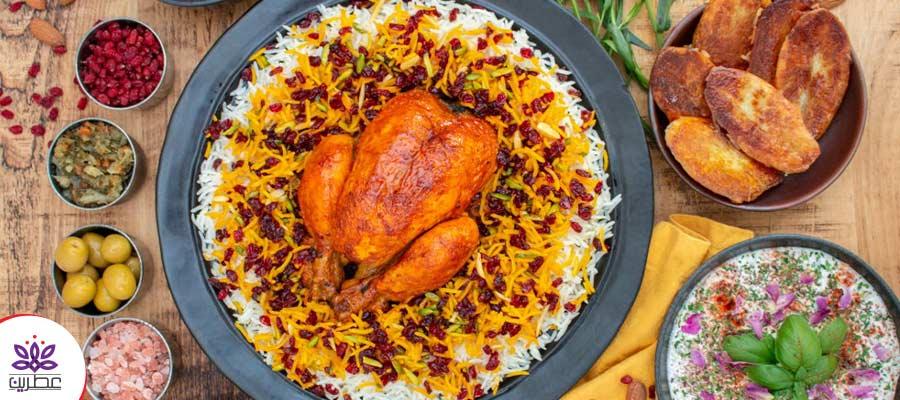 مرغ خوشمزه مجلسی