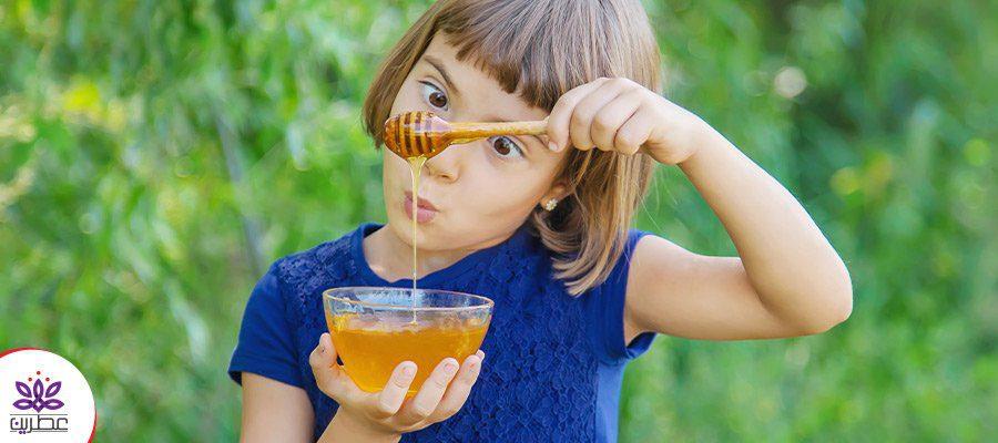 اهمیت مصرف عسل در کودکان