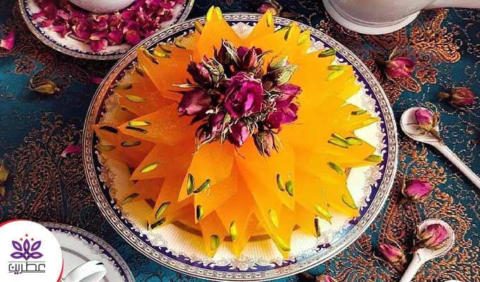 طرز تهیه مسقطی زعفرانی؛ طعمِ شیرین ایرانی بودن!