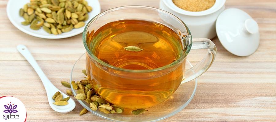 دم کردن چای هل