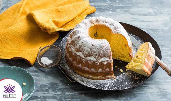 طرز تهیه کیک زعفرانی سوئدی