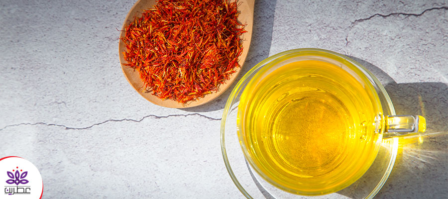 خواص چای زعفران برای پوست